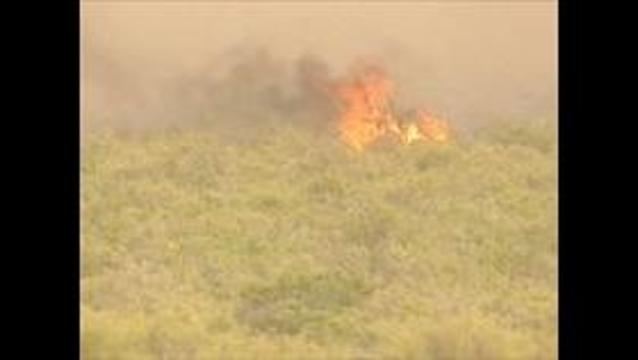 Wildfire in Weber County contained