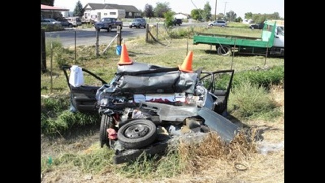 3-year-old involved in car accident near Logan dies