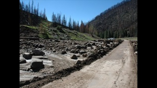 Debris flow forces Emery County road closure