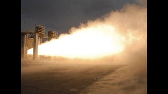 ATK tests new nozzle on GEM-60 rocket