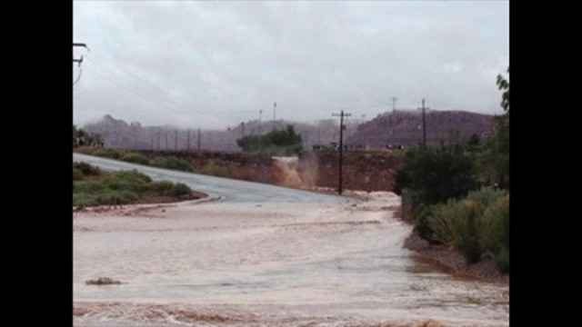 Utah gov. requests federal funds for flood zone