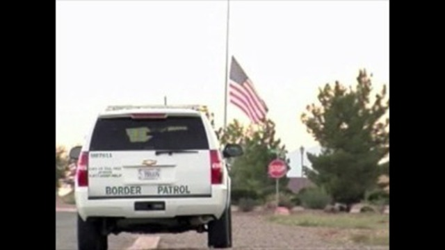 Wounded border agent released from hospital
