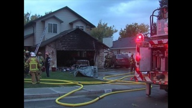 Fire crews respond to two-alarm blaze in Millcreek