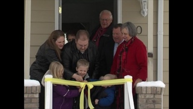 Orem family starts off the New Year in much needed home