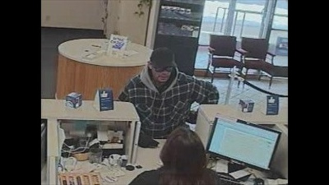 US Bank branch robbed, Police seek suspect