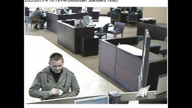 Police Searching for Suspect in Bank Robbery