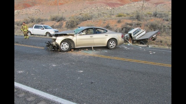One dead, one critical in Sanpete County crash