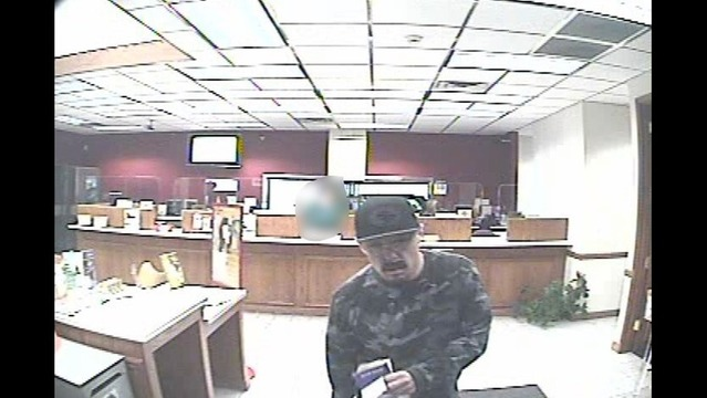 Police looking for serial bank robber in Salt Lake County