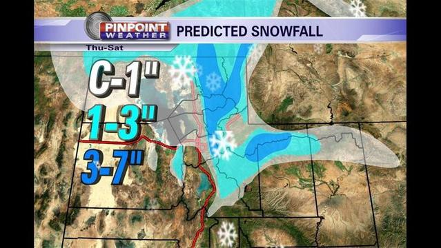 Curtis' Thursday Pinpoint Forecast