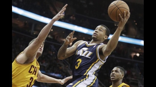 Jazz begin road trip with loss to Cleveland