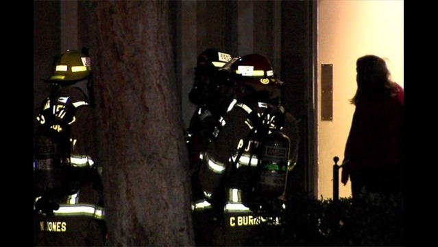 Mother and two children injured in apartment fire