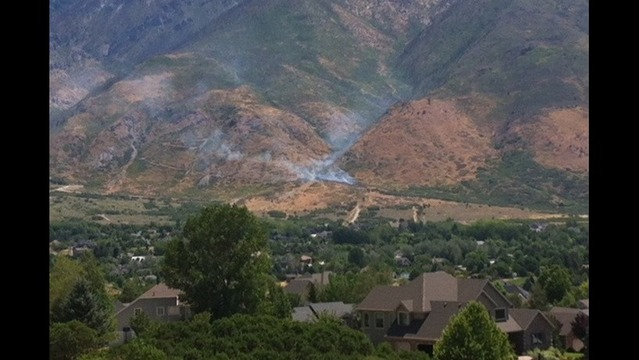 Target shooters spark brush fire in Alpine