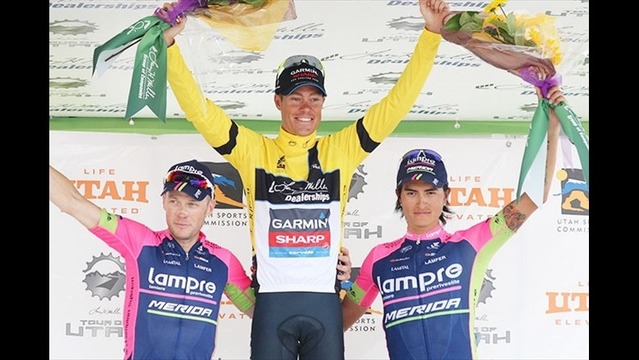 Danielson wins Tour of Utah for second straight year