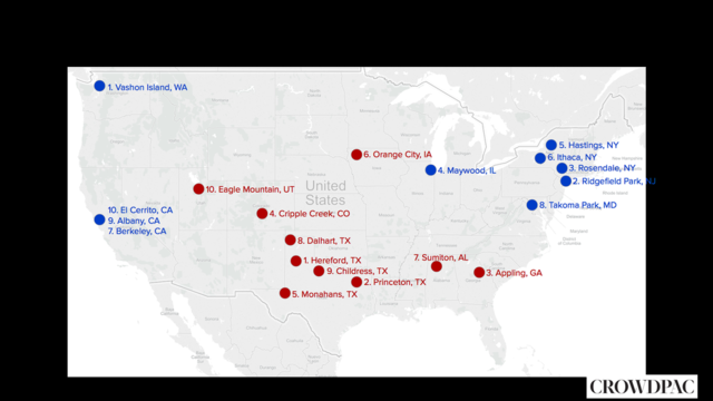 Most Liberal And Conservative Cities In America Which Utah City Made The List