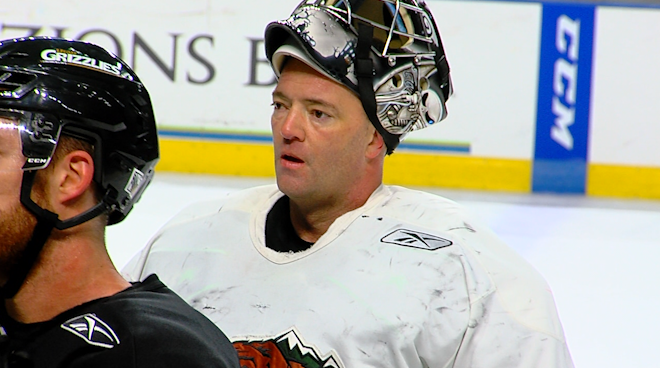 ECHL: 43-year-old Firefighter Called On As Emergency Goalie In Minor League Game