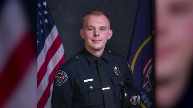 Officer Cody Brotherson honored one year after his death