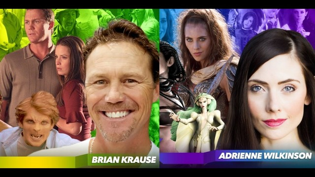 Brian Krause, Adrienne Wilkinson Coming to FANX17