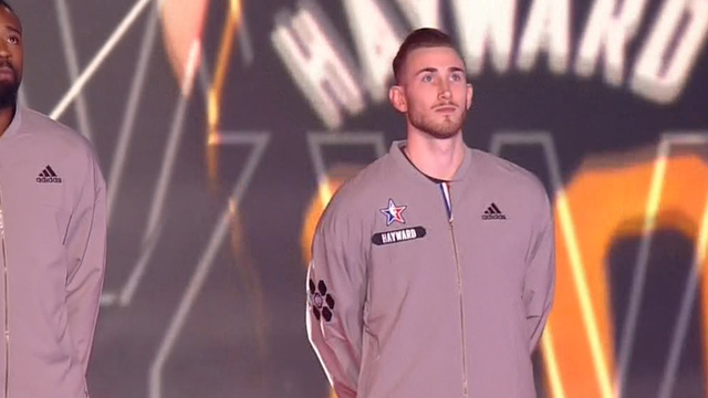 Gordon Hayward enjoys All-Star Game debut