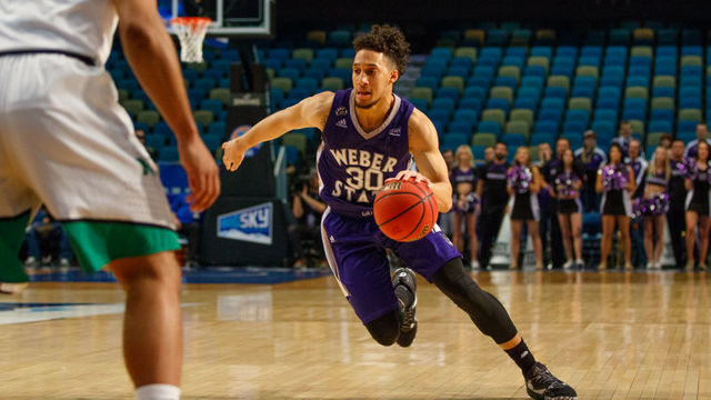 Weber State blows late lead in Big Sky Tournament championship game