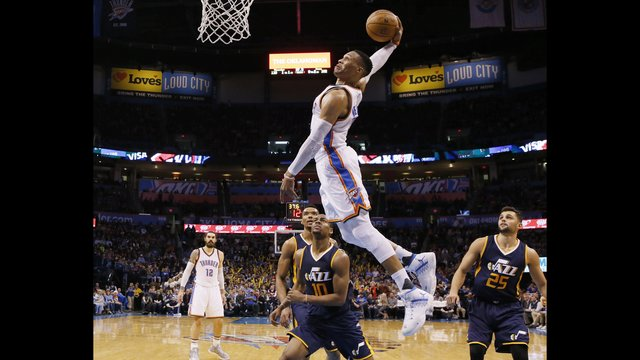 Without Gobert and Favors, Jazz lose to Thunder, 112-104