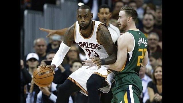 LeBron James scores 33 points as Cavaliers hold off Jazz, 91-83