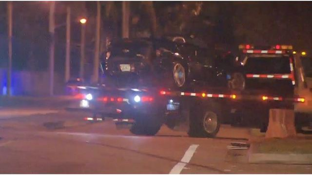Three Hospitalized After Family Hit by vehicle in Dania Beach Sunday Night