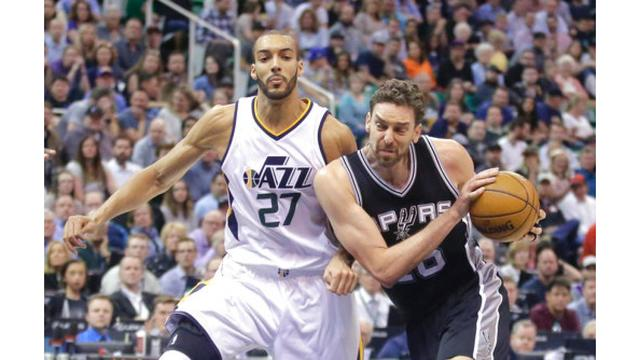 Jazz beat San Antonio, but head into NBA playoffs as 5th seed