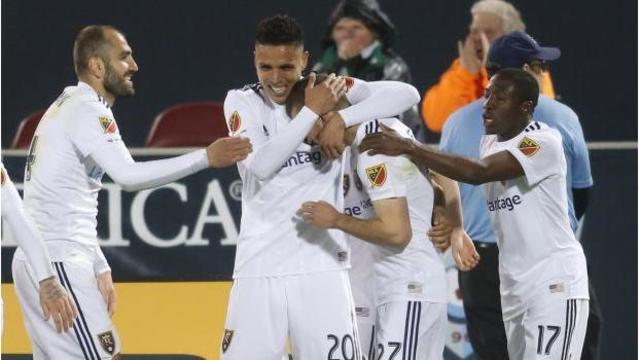 Real Salt Lake scores twice in final minutes to beat Colorado, 2-1