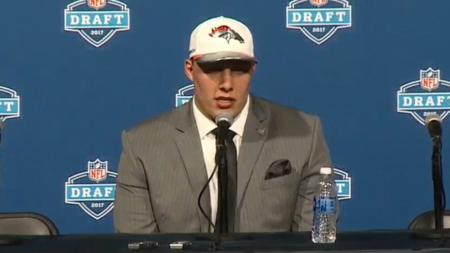 Utah's Garett Bolles selected No. 20 overall to Denver Broncos