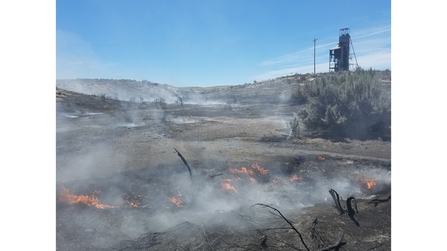 Uintah County wildfire burned nearly 2,500 acres