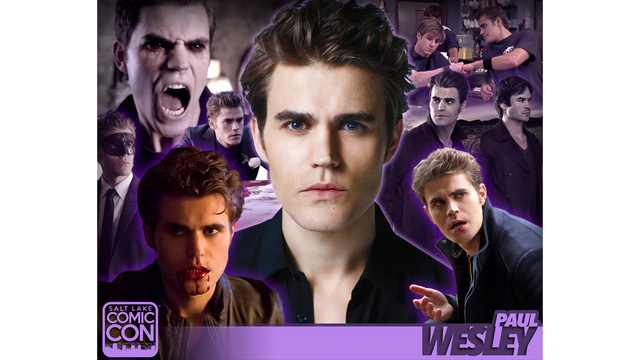 Paul Wesley announced for Salt Lake Comic Con 2017