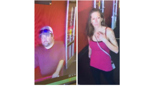 Police looking to identify couple in several theft and fraud cases