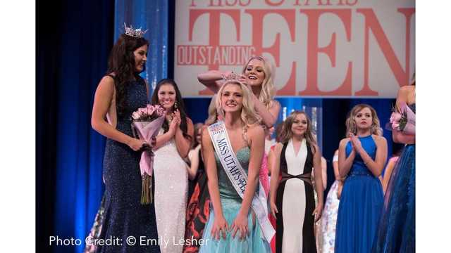 Spanish Fork Sophomore crowned Miss Utah's Outstanding Teen