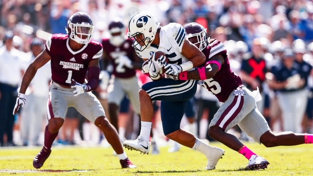 BYU gets blown out at Mississippi State, 35-10
