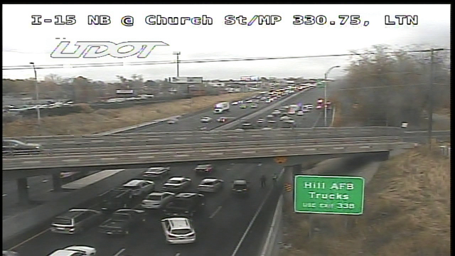 Police activity impacts I-15 northbound in Layton
