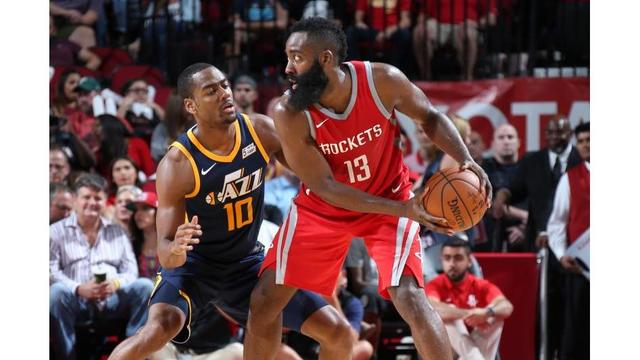 James Harden torches Jazz for career-high 56 points
