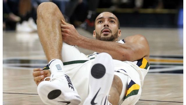 Rudy Gobert out 4-6 weeks with bone contusion