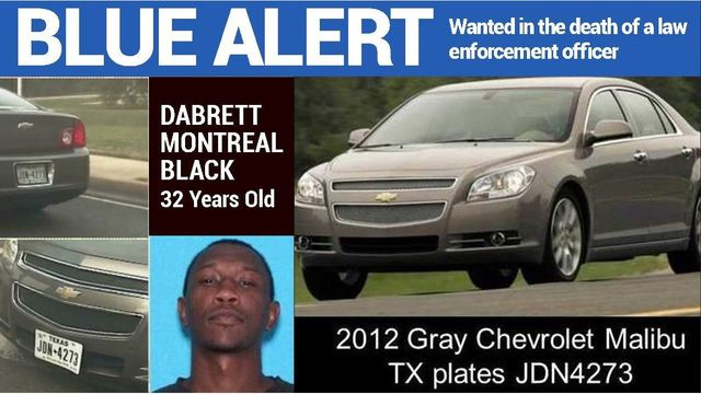 Texas authorities search for suspect in fatal shooting of state trooper