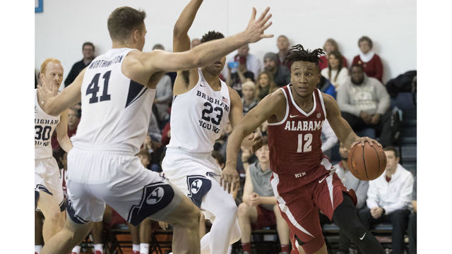 Alabama basketball forced to play four-on-five after series of ejections