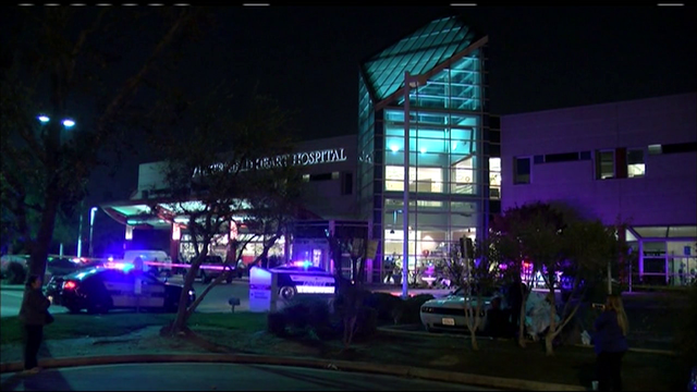 Suspect shot by police at Calif. hospital, authorities say