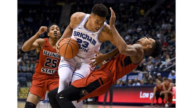 BYU races out to big lead and holds off Illinois State, 80-68