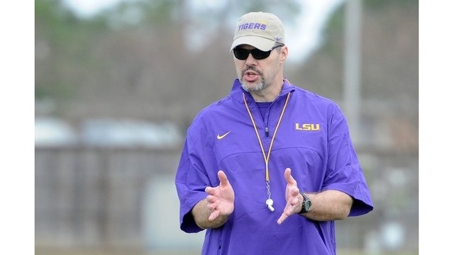 Jeff Grimes present at LSU practice; several players miss including Key, Alexander