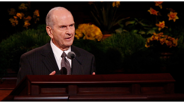 President Of The Mormon Church Dies