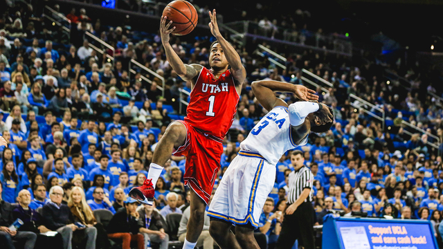 Utes get run over by UCLA, 83-64