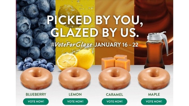 Krispy Kreme wants you to vote on new glazed doughnut flavor