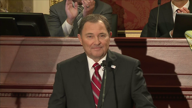 VIDEO: Governor Herbert delivers 2018 State of the State Address