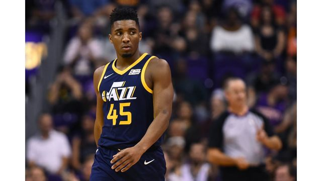Donovan Mitchell named NBA Rookie of the Month again
