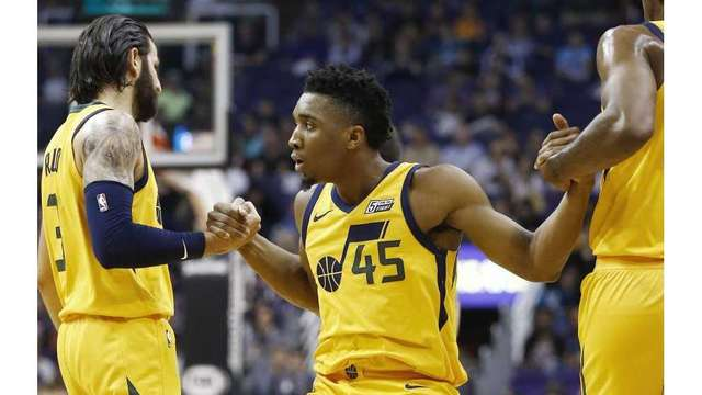 Donovan Mitchell: Ruled out with illness