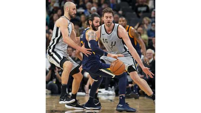 Jazz keep rolling with 5th straight victory, beating Spurs 120-111