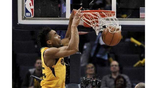 Jazz grab fifth straight win dropping Memphis 95-78